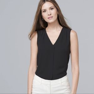 WHBM single pleat shell top